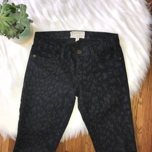 Current/Elliot Stiletto Black Skinny Jeans Size 24